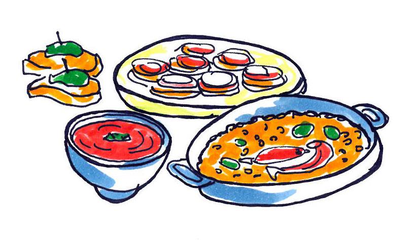cibo tipico andalusia