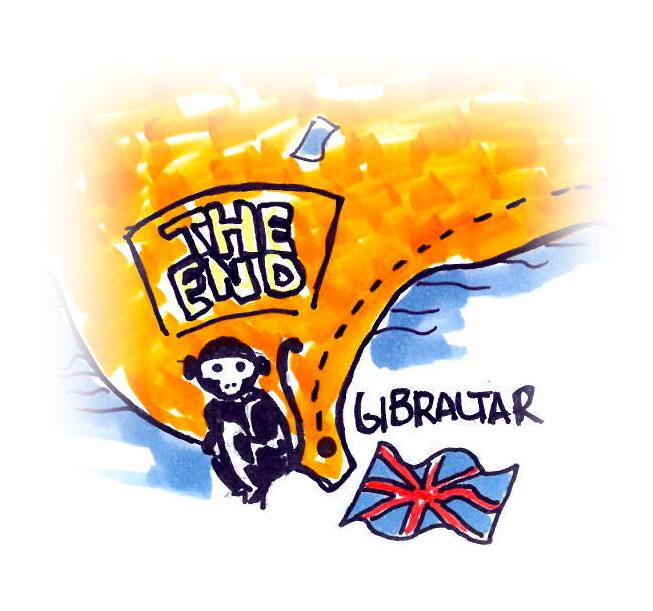 Gibilterra - Itinerario di Viaggio in Andalusia