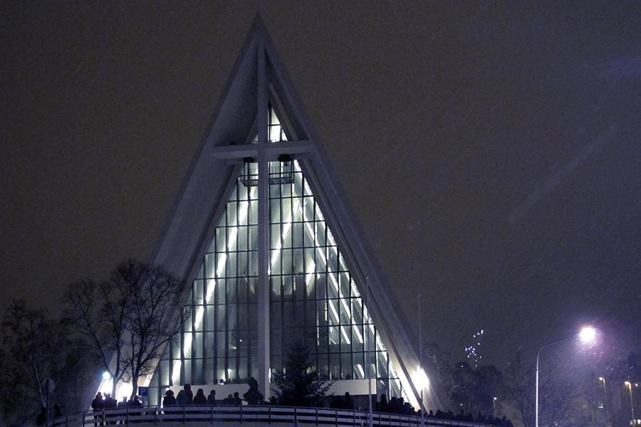 Cattedrale - Caccia all'Aurora Boreale in Norvegia