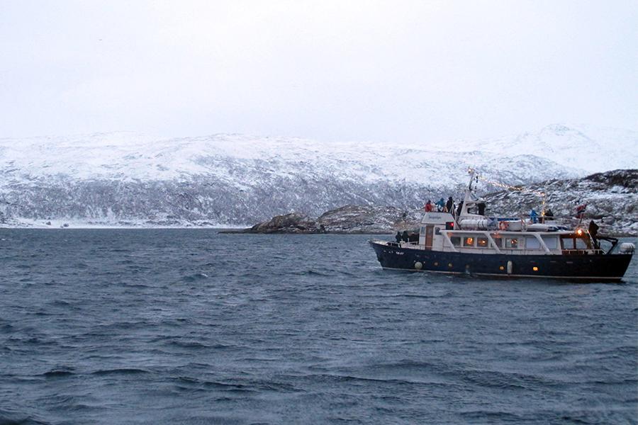 barca - Caccia all'Aurora Boreale in Norvegia