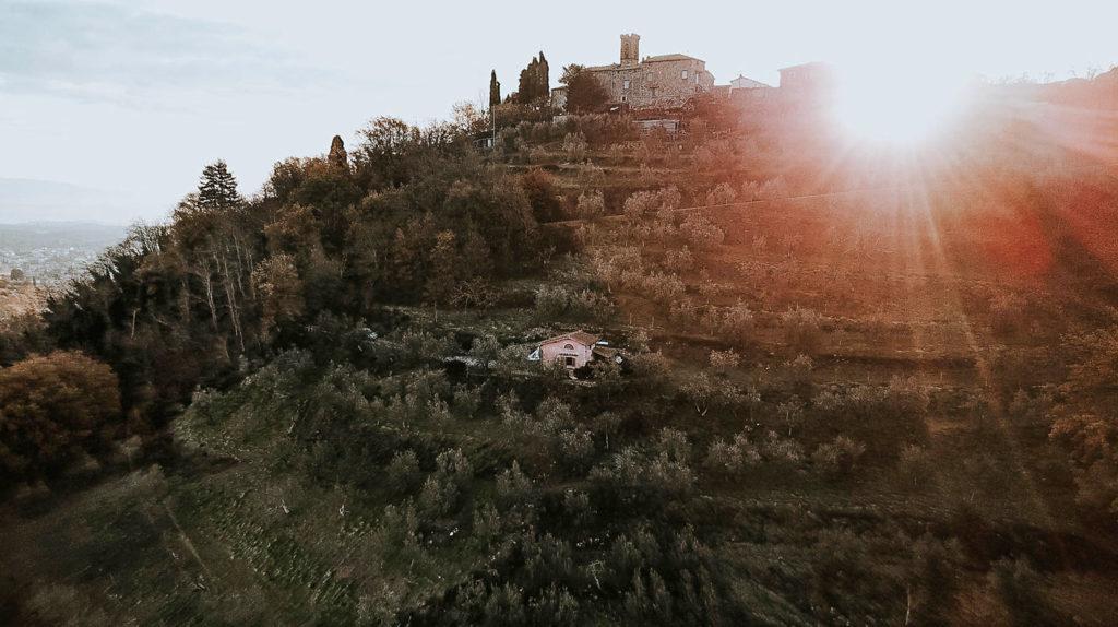 Greve in Chianti foto paesaggio Vacanze in Toscana