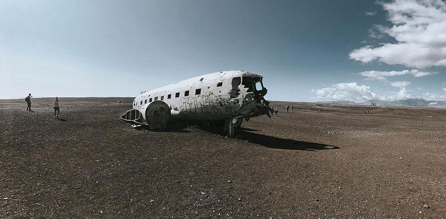 Cosa Vedere in Islanda Relitto aereo spiaggia Sólheimasandur