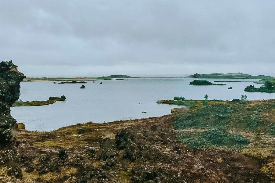 Il lago Mývatn