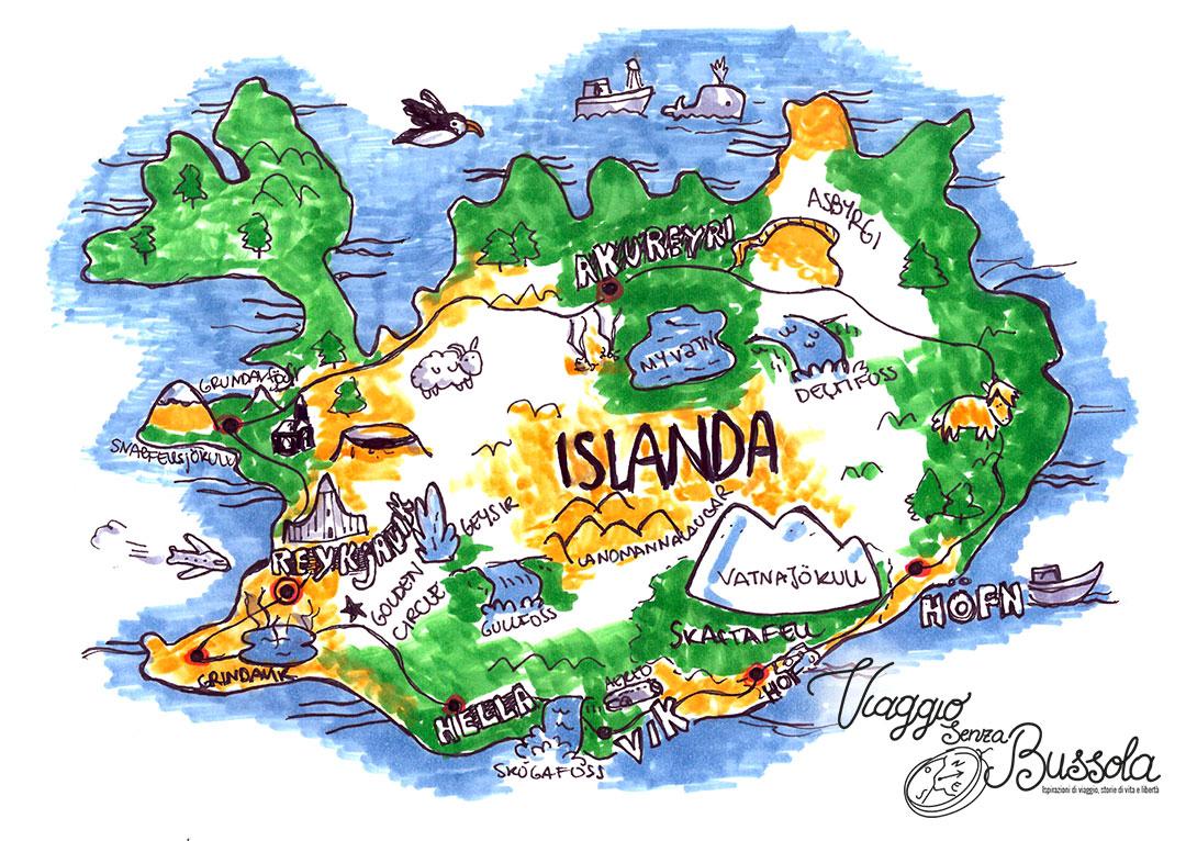 itinerario Cosa Vedere in Islanda