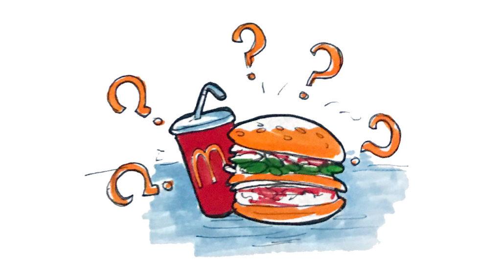 niente McDonald's